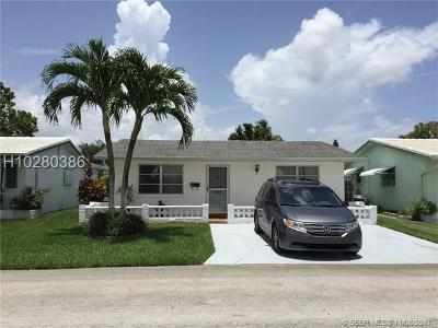Tamarac Single Family Home For Sale: 5009 NW 50th Ct