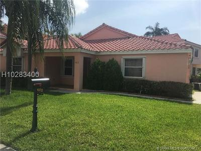 Dania Beach Single Family Home For Sale: 1072 SE 6th Ave