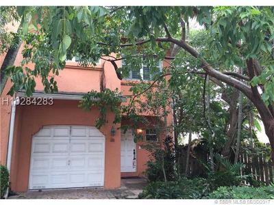 Fort Lauderdale Condo/Townhouse Backup Contract-Call LA