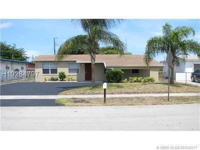 Lauderhill Single Family Home Backup Contract-Call LA: 1860 NW 34th Ter
