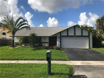 Sunrise Single Family Home Backup Contract-Call LA: 9540 NW 32nd Ct