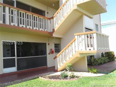 Hollywood Condo/Townhouse For Sale: 5300 Washington St #Q106