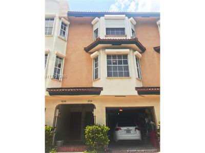 Hollywood Condo/Townhouse For Sale: 4242 N Ocean Dr #4242