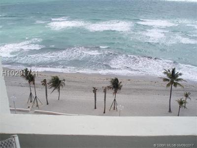 Hollywood Condo/Townhouse For Sale: 3111 N Ocean Dr #1107