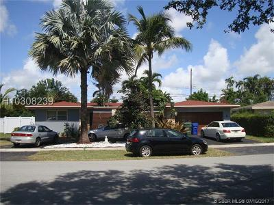 Fort Lauderdale Single Family Home For Sale: 5691 NE 22nd Ave