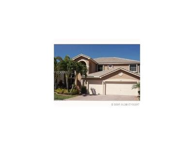 Miramar Single Family Home For Sale: 17803 SW 35th Ct