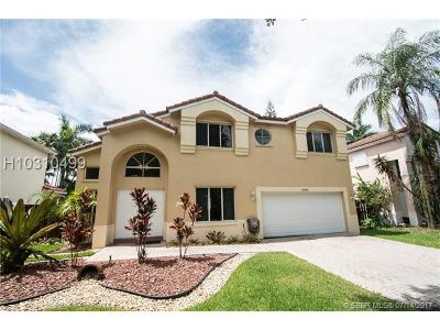Cooper City Single Family Home For Sale: 11250 Rockinghorse Rd