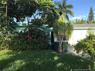 Sunrise Single Family Home For Sale: 4530 NW 113th Ave