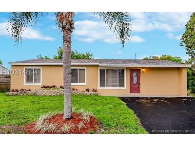 Fort Lauderdale FL Single Family Home For Sale: $265,000
