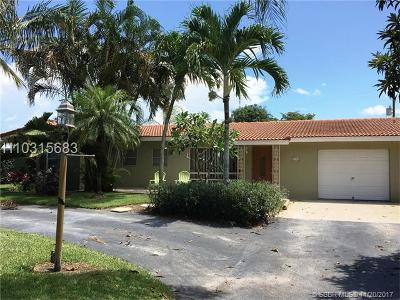 Plantation Single Family Home For Sale: 4100 SW 5th St