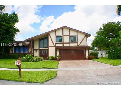 Plantation Single Family Home For Sale: 5361 SW 21st Ct