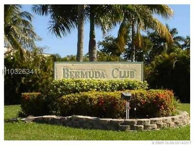 Tamarac Condo/Townhouse For Sale: 6021 NW 61st Ave #112
