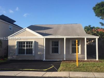 Sunrise Single Family Home For Sale: 15909 SW 2nd St