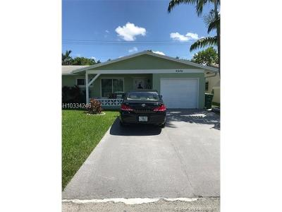 Tamarac Single Family Home For Sale: 6508 NW 57th Ct