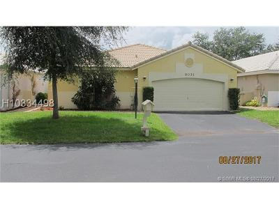 Davie Single Family Home For Sale: 6051 Swinden Ln