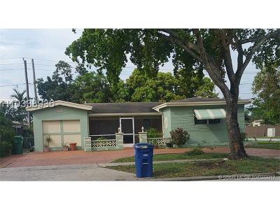 Single Family Home For Sale: 7801 Miramar Pkwy