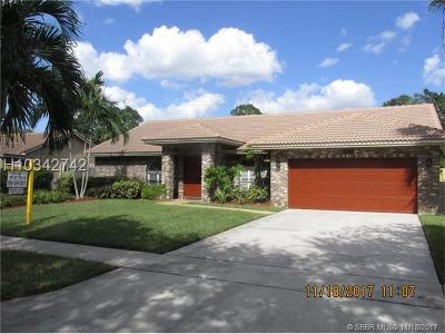 Plantation Single Family Home For Sale: 9313 NW 18th St