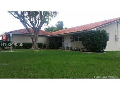 Hollywood Single Family Home For Sale: 1245 Wiley St