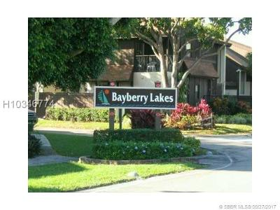 Pembroke Pines Condo/Townhouse For Sale: 2061 Bayberry Dr #2061