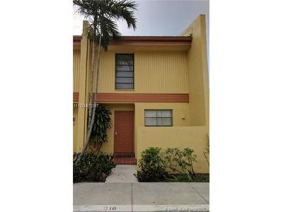 Pembroke Pines FL Condo/Townhouse For Sale: $179,900