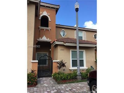Miramar Condo/Townhouse For Sale: 12081 SW 26th St #102-1