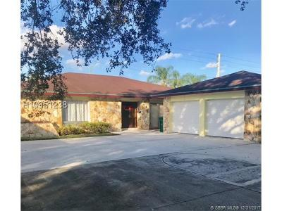Cooper City Single Family Home For Sale: 8985 SW 49th St