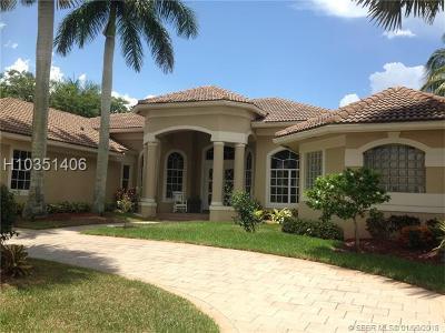 Weston Single Family Home For Sale: 2545 Sanctuary Dr