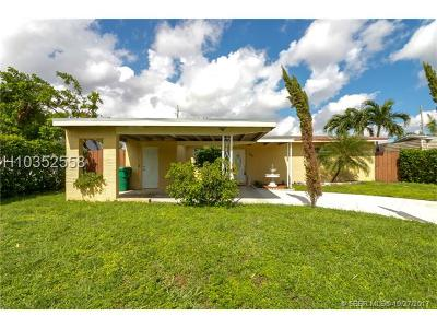 Davie Single Family Home For Sale: 7761 NW 35th St