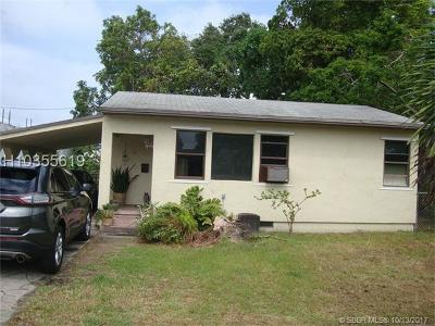 Dania Beach Single Family Home For Sale: 330 SW 13th St