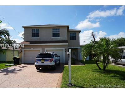 Dania Beach Single Family Home For Sale: 125 NW 7th Ave
