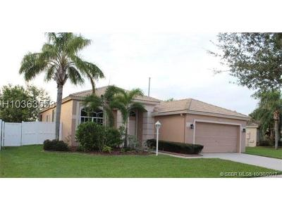 Pembroke Pines Single Family Home For Sale: 1124 NW 131st Ave