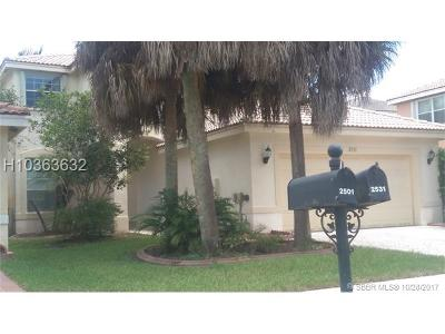 Miramar Single Family Home For Sale: 2531 SW 164th Ave