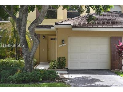 Plantation Condo/Townhouse For Sale: 163 NW 98th Ter #163