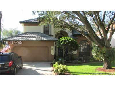 Cooper City Single Family Home For Sale: 11570 Gorham Dr