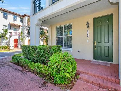 Miramar Condo/Townhouse For Sale: 2700 SW 119th Way #2700