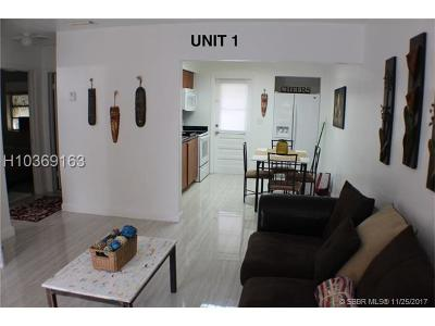 Hollywood Multi Family Home For Sale: 2454-56 W Hayes St