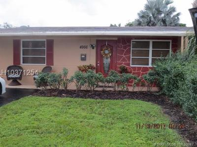 Cooper City Single Family Home For Sale: 4966 SW 93rd Ave