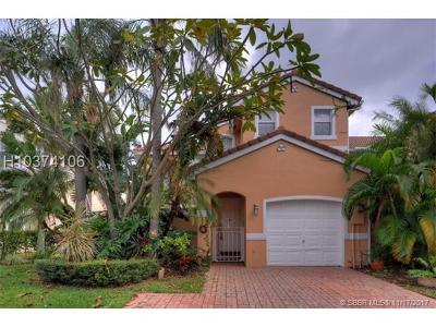 Hollywood Condo/Townhouse For Sale: 1561 Seagrape Way #1561