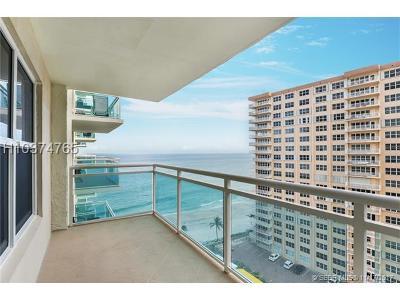 Fort Lauderdale Condo/Townhouse For Sale: 3900 Galt Ocean Dr #1204