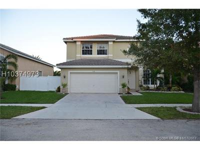 Miramar Single Family Home For Sale: 3333 SW 173rd Ter