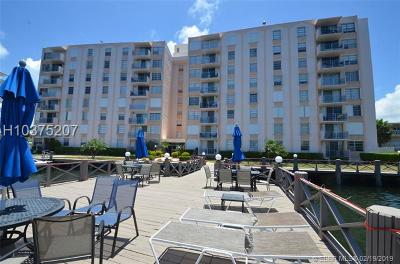 Hallandale Condo/Townhouse For Sale: 430 Golden Isles Dr #406