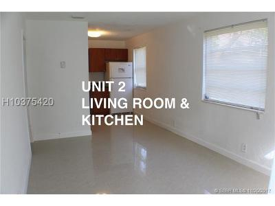 Dania Beach Multi Family Home For Sale: 218 NW 8th Ave