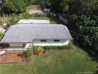Davie Single Family Home For Sale: 1570 SW 115th Ave