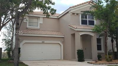 Miramar Single Family Home For Sale: 5115 SW 155th Ave