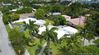 Fort Lauderdale FL Single Family Home For Sale: $815,000