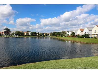 Miramar Single Family Home Backup Contract-Call LA: 9917 W Elm Ln