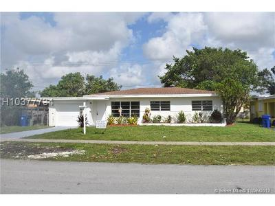 Fort Lauderdale FL Single Family Home For Sale: $279,900