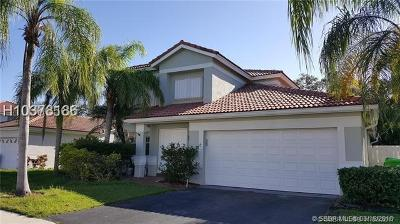 Sunrise Single Family Home For Sale: 1400 NW 129th Ave