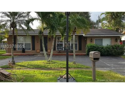 Sunrise Single Family Home For Sale: 12210 NW 29th St