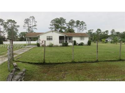 Single Family Home For Sale: 15476 Tangelo Blvd